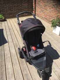 Phil and teds dot double buggy