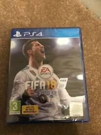 Fifa 18 PS4 new