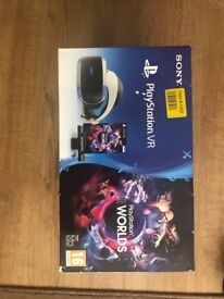 PlayStation VR! Used once.