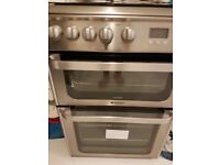 New hotpoint Ultima cooker with Bosch steam iron