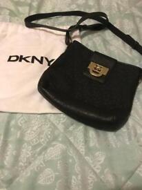 Original DKNY Leather black handbag £33ono