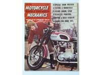 6 Issues of Motorcycle Mechanics from 1968 to 1975