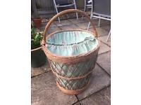 Elegant & Unique Wicker Laundry Basket