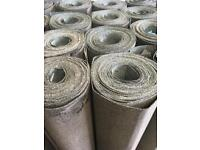 Roofing felt green mineral