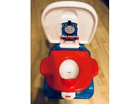 Fisher-Price Thomas Potty, Kids Toilet Training seat, Ring and Step Stool with Train Sounds, Songs