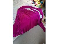Bridesmaid Dress Hot Pink Multiway Medium