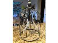Bird cage light ( John Lewis ) very pretty.less than 2yrs old ( changed decor )