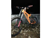 Specialized downhill mountain bike