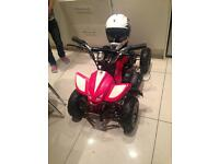 Kids electric motor quad
