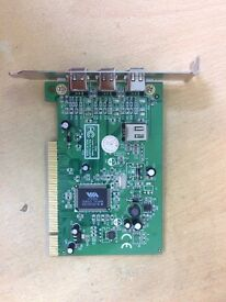 StarTech 4 Port PCI 1394a FireWire Adapter Card with Digital Video Editing