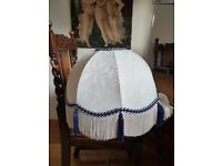 Traditional, fabric lampshade