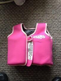 Swimming aid coat