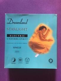 Single Electric under Blanket