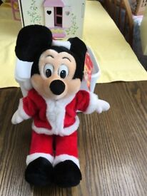 Mickey Mouse, Christmas, new with label