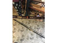 Fly fishing rods, reels and etc