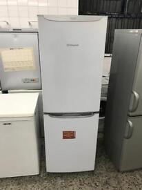 Hotpoint Fridge freezer new model very nice 4 month warranty free delivery