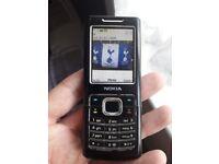 Nokia Classic 6500 mobile phone unlocked