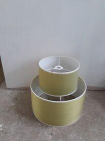 Tk Max green lamp shades