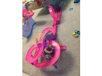 Polly pocket rollercoaster Mall set