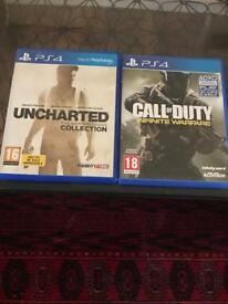 Call of duty & uncharted