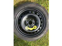Genuine Volvo Space Saver Wheel And Tyre XC60 - Good condition