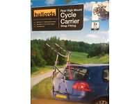 3 cycle carrier- Halfords high mount