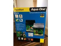 Aqua one fish tank 28 litre