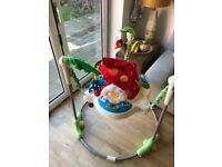Fisher Price Rainforest Jumperoo - Used but Good Condition, Jungle Theme
