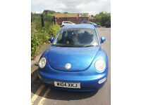 VW Beetle runs and drives well mot february 2017 not being used drive away today