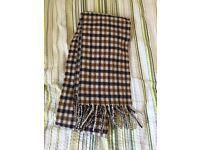 Aquascutum lambswool scarf