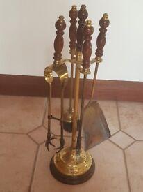 Fireplace compendium set x 5 pieces