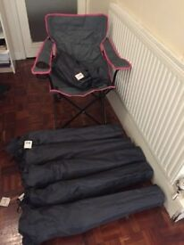 6 Off Clas Ohlson Camping Chairs Beach Chairs With Sack Bags
