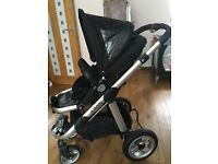 iCandy Apple pushchair and maxi cosi car seat