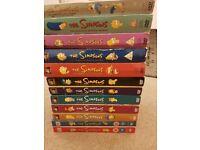 Simpsons Seasons 1 - 12