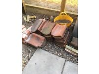 Norfolk pan tiles 50 approx red roof