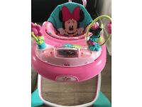 Bright Starts Minnie Mouse Baby Walker