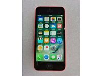 APPLE IPHONE 5C PINK 8GB WITH RECEIPT
