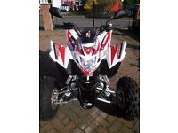 Aeon Cobra 400 Quad Bike Auto new condition 250 miles