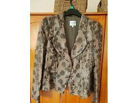 Ladies Vintage Armani Leather Jacket