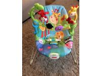 Baby bouncer Fisher Price Rainforest