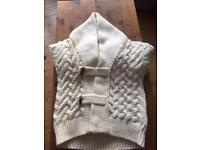 Zara Man Large Thick Knit Cardigan RRP£129