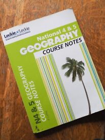 LECKIE AND LECKIE - GEOGRAPHY - NATIONAL 4 & 5 COURSE NOTES BY P COFFEY