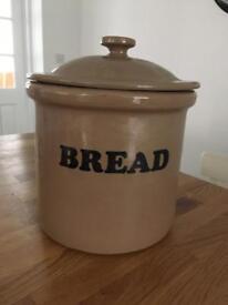 Large Earthenware Bread Bin