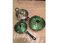 Pan and pots