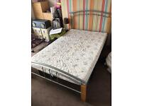 Small 4ft Double Bed With Mattress