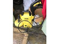 Karcher k2 compact pressure washer and 50 meter hose