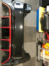 Fiesta mk 7.5 Rs rear bumper twin exit exhaust and skirt splitters