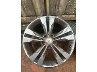 "Mercedes 18"" used, wheel alloys"