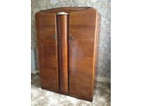 Antique ladies wardrobe