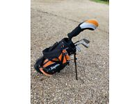 Ben Sayers Children's golf clubs and bag